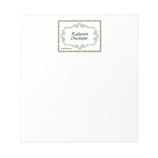 Radiation Oncologist Classy Notepad