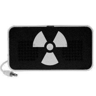 Radiation Pictogram Doodle Speaker
