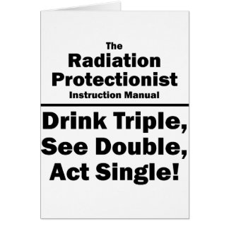 radiation protectionist card