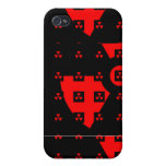radiation red covers for iPhone 4