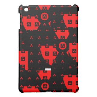 radiation red iPad mini covers