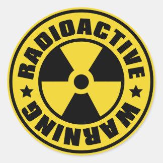 Radiation_S Etiquetas Redondas