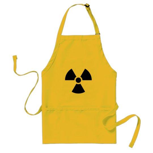 Radiation Sign Adult Apron