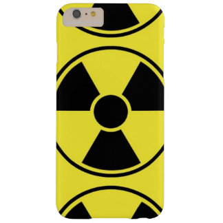 Radiation sign barely there iPhone 6 plus case