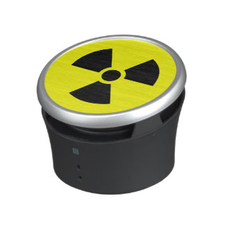 Radiation Sign Bumpster Speaker