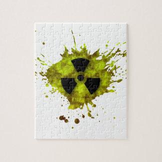 Radiation Splat - Radioactive Waste Jigsaw Puzzle