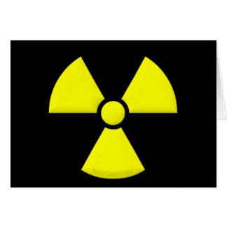 Radiation Symbol Card