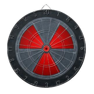 Radiation Symbol Dart Board