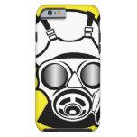 Radiation Symbol Gas Mask iPhone 6 Case