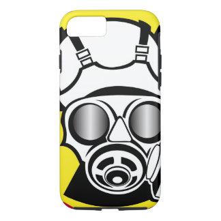 Radiation Symbol Gas Mask iPhone 7 Case