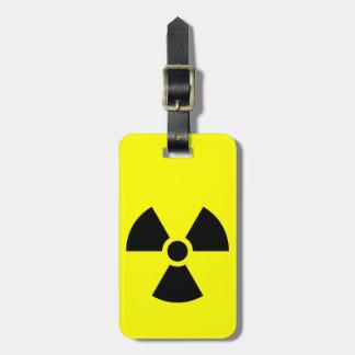 Radiation symbol Luggage Tag