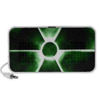 Radiation symbol PC speakers