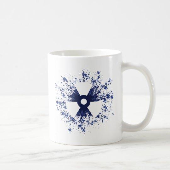 Radiation Symbol Splat Coffee Mug