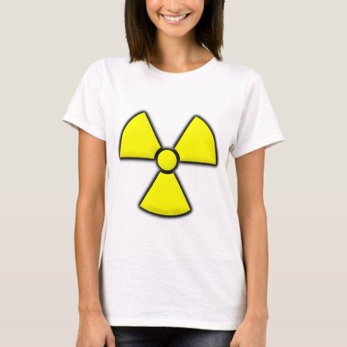 Radiation Symbol T_Shirt