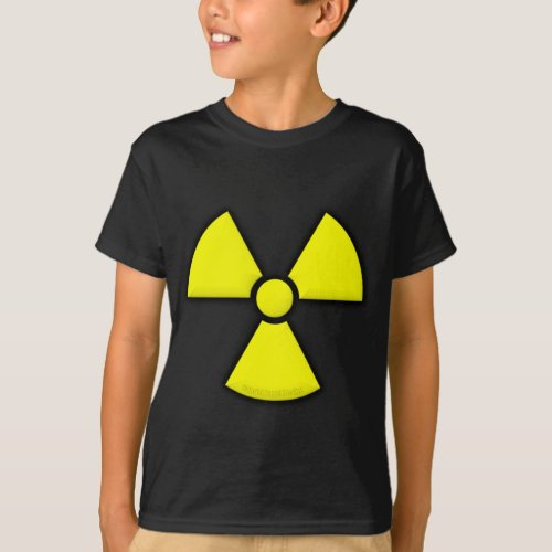 Radiation Symbol T_Shirt