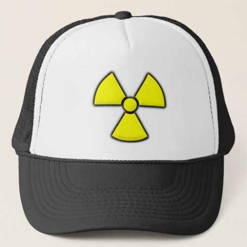 Radiation Symbol Trucker Hat