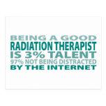 Radiation Therapist 3% Talent Postcard