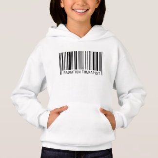 Radiation Therapist Barcode Hoodie