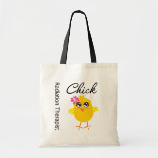 Radiation Therapist Chick Tote Bags