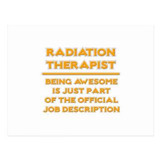 Radiation Therapist .. Job Description Postcard