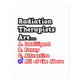 Radiation Therapist Quiz Postcard