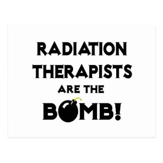 Radiation Therapists Are The Bomb! Postcard