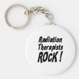 Radiation Therapists Rock! Keychain