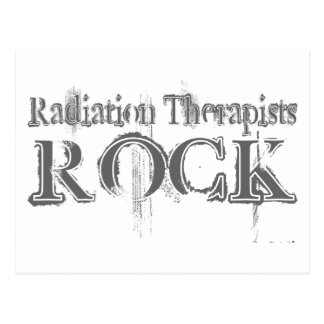 Radiation Therapists Rock Post Card