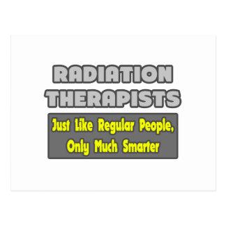 Radiation Therapists...Smarter Postcard