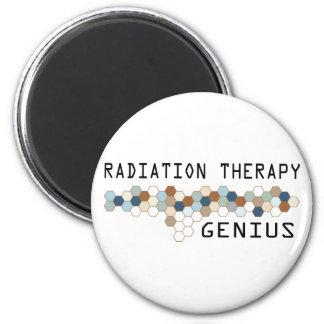 Radiation Therapy Genius Fridge Magnet
