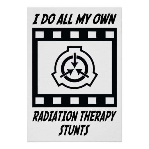 Radiation Therapy Stunts Poster
