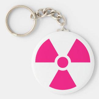 Radiation Trefoil Sign Symbol Warning Sign Symbol Key Chain
