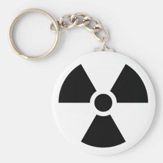 Radiation Trefoil Sign Symbol Warning Sign Symbol Key Chains