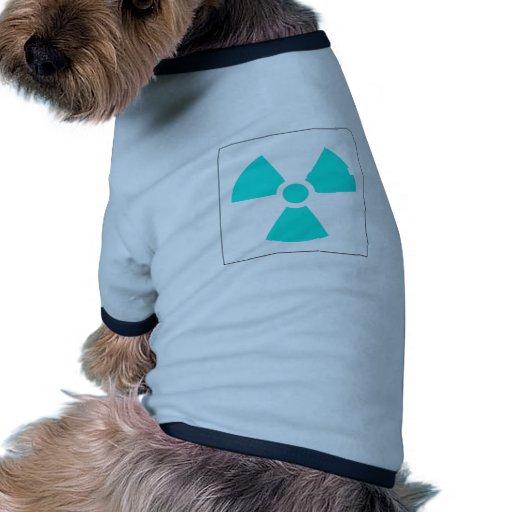Radiation Trefoil Sign Symbol Warning Sign Symbol T-Shirt