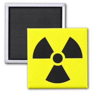 Radiation Warning Logo #2 Magnet