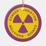 Radiation Warning Ornament