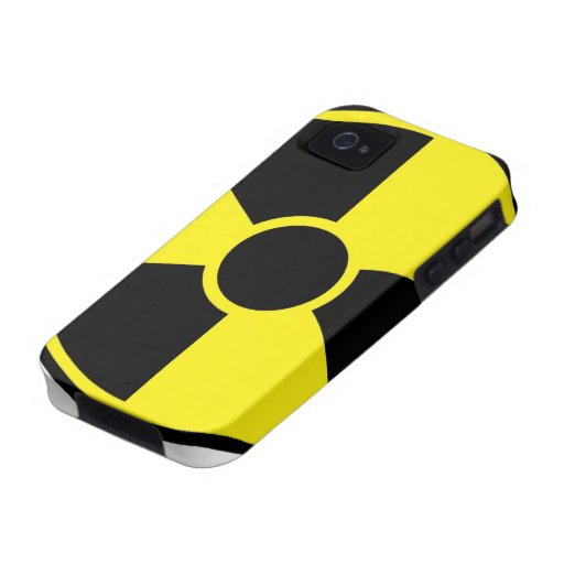 Radiation Warning Sign iPhone 4/4S Case