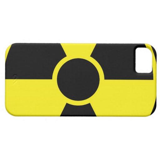 Radiation Warning Sign iPhone 5 Case