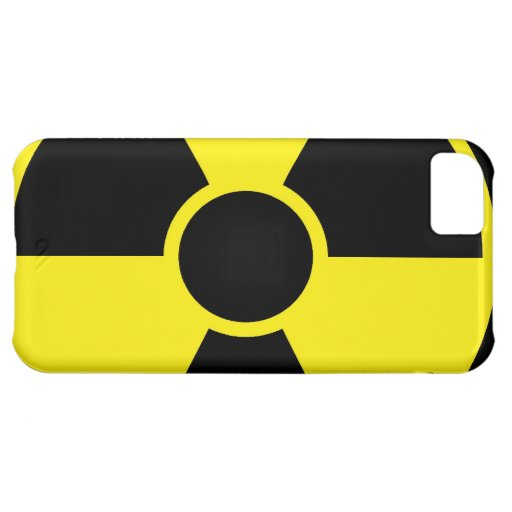Radiation Warning Sign iPhone 5C Case
