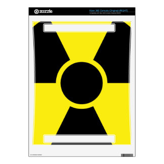 Radiation Warning Sign Decals For The Xbox 360