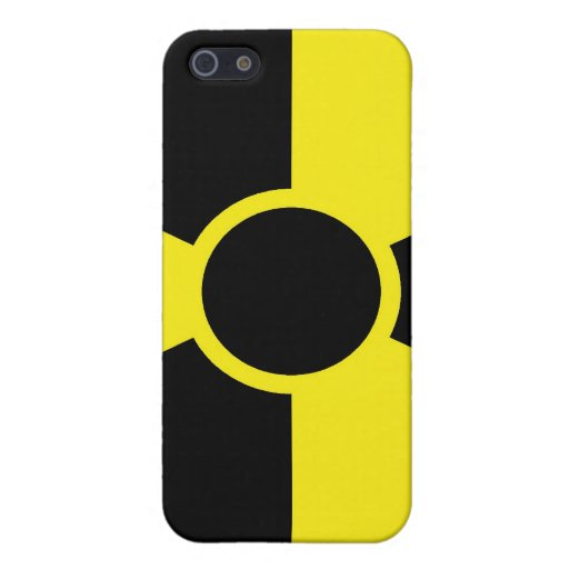 Radiation Warning Sign iPhone 5 Cover