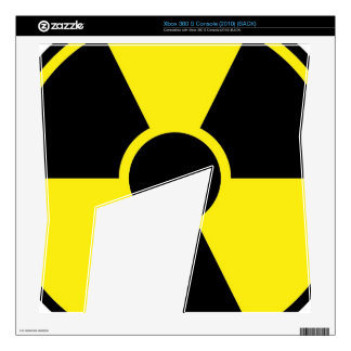 Radiation Warning Sign Skins For The Xbox 360 S