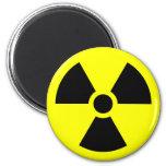 Radiation Warning Symbol Refrigerator Magnets