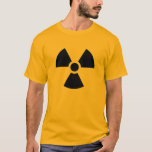 Radiation Warning Tee Shirt