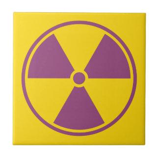 Radiation Warning Tile
