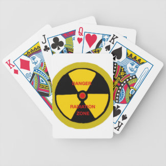 Radiation zone bicycle playing cards