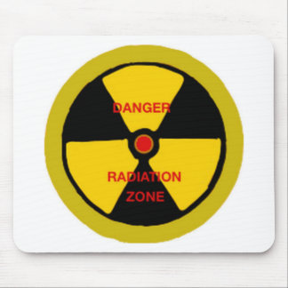 Radiation zone mouse pad