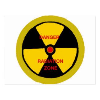 Radiation zone postcard