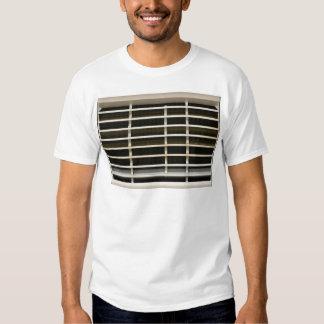 Radiator grid texture t shirt