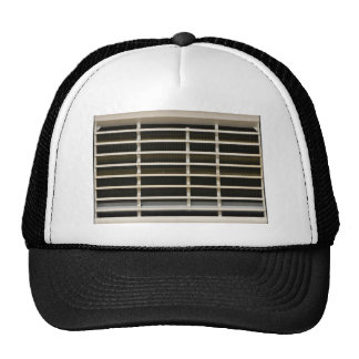 Radiator grid texture trucker hat